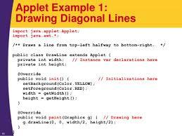 java 8 programming tutorial applets and basics graphics