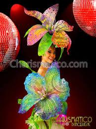 flower headdress charismatico hibiscus inspired tropical blush pink flower