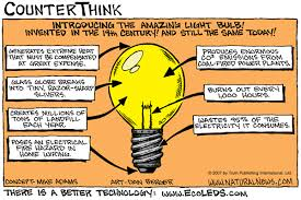 when was light bulb invented the amazing light bulb comic
