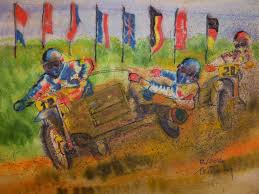 sidecar motocross racing imba internationale motor bike association