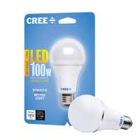 Cree 100 Watt Led Light Bulb by Cree Led 100 Watt Soft White Replacement Bulb