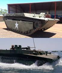 amphibious vehicle military original lvt buffalo used in the tv series u201cpacific u201d for sale