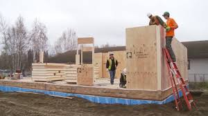 Sip Panel House by Building With Alaska Insulated Panels Sips On Site Youtube