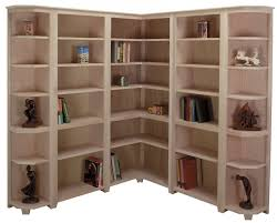corner bookshelf white how to build simple bookcase without power