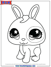 littlest pet shop colouring pictures print coloring pages dog