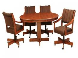 Casual Dining Room Sets Dining Room Sets With Casters Chairs Dining Room Sets Chairs With
