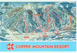 Snowmass Colorado Map by Copper Mountain Resort Trail Map Ski Butlers
