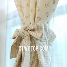 Shabby Chic Floral Curtains by Beautiful Shabby Chic Toile Beige Plaid Floral Curtains