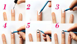 easy nail art designs step by step image u2013 easy nail art