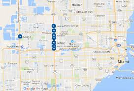 I 95 Map Miami Fort Lauderdale
