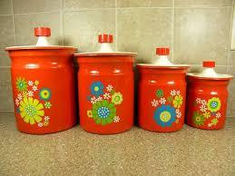 vintage kitchen canister 192 best canister images on vintage kitchen
