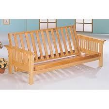 wood futon frames you u0027ll love wayfair
