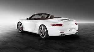 porsche convertible black white porsche 911 carrera s convertible car
