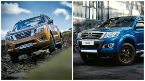 nissan navara 2018 the toyota hilux vs the nissan navara which is the toughest