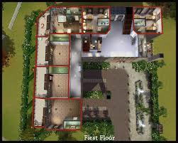 Nursing Home Floor Plans Mod The Sims Appaloosa Plains Nursing U0026 Apartment Homes