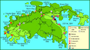 map usvi map of st island travel maps and major tourist attractions maps