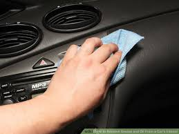 What Is The Best Auto Upholstery Cleaner 4 Ways To Remove Grease And Oil From A Car U0027s Interior Wikihow