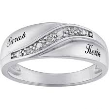 personalized engraved rings wedding rings couples rings personalized engraved rings