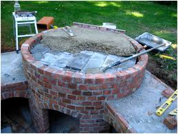 Build Brick Oven Backyard by Backyards Charming Backyard Wood Oven Outdoor Bread Oven Plans