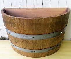 quarter barrel planter