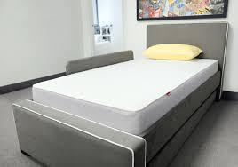 Twin Bed Frame With Mattress Dorma Upholstered Modern Twin Bed With Trundle By Monte Design