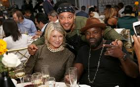 lester walker dinner with martha stewart and ghetto gastro wsj
