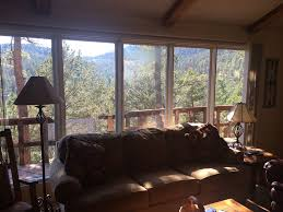 mountainview escape cabin with an awesome vrbo