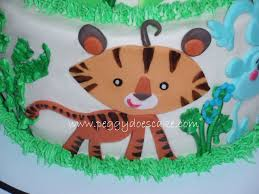 molly u0027s fisher price rainforest baby shower cake click photos to