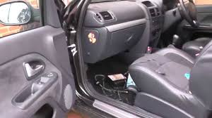clio 2 turn off front passenger airbag for child baby seat youtube