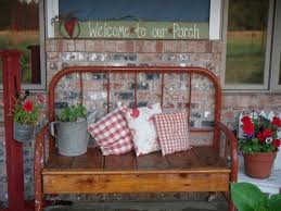 Bench Made From Bed Headboard 195 Best Benches Images On Pinterest Benches Cottage Style And