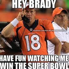 Peyton Manning Tom Brady Meme - the best tom brady memes after the patriots lost yesterday