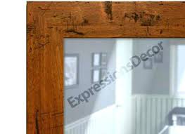 Oak Framed Bathroom Mirror Oak Framed Bathroom Mirror Juracka In Oak Framed Wall Mirrors