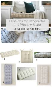 cushions for banquette and window seat best online sources cushions for banquettes and window seats online sources