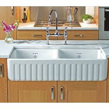 Kitchen Delectable Small Kitchen Decoration Using White Wood - Shaw farmhouse kitchen sink