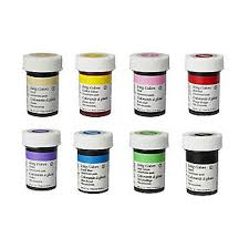 wilton concentrated icing u0026 food colourings x8
