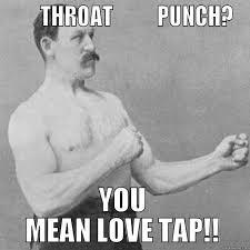 Throat Punch Meme - throat punch thursday quickmeme