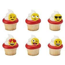 wedding cake emoji bakery supplies emoticon emoji cupcake rings 24