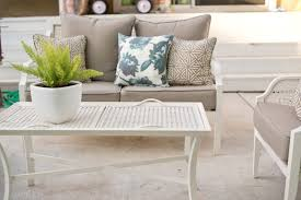 collection in white patio table small round metal patio table