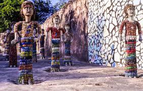 nek chands rock garden chandigarh india stock image image 54595923