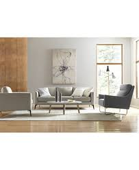 Modern Leather Living Room Furniture Modern Living Room Furniture Shop Furniture Sets Macy S