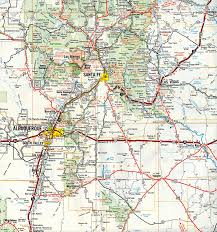 New Mexico Road Closures Map by Interstate Guide Interstate 25