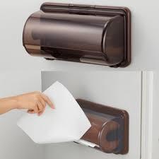 magnetic toilet paper holder buy inomata kitchen towel rack roll holder refrigerator magnet