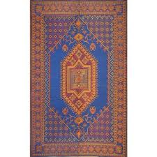Outdoor Rug Material Indoor Outdoor Rug Runner 2 5 X 8 Turkish Royal Blue By