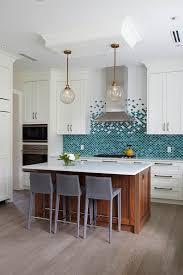 blue kitchen backsplash white cabinets turquoise backsplash ideas house of turquoise