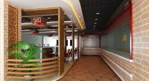 Chinese Interior Design by Chinese Restaurant Aisle Interior Design Download 3d House