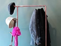 copper pipe clothing rack industrial thebradfordedge