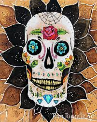 The 25 best Sugar skull decor ideas on Pinterest