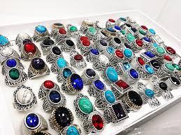 stone rings wholesale images 2018 wholesale bulk assorted mix styles women 39 s men 39 s antique jpg