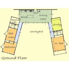 47 best images about u shaped houses on pinterest house l shaped bungalow floor plans home design