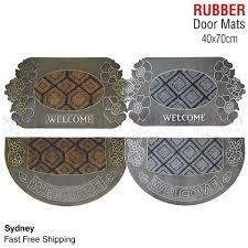 Long Doormats Rubber Coir Front Door Mats Large Doormats Outdoor Rugs Non Slip Long